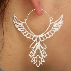 925 Silver FP Thunderbird Earrings